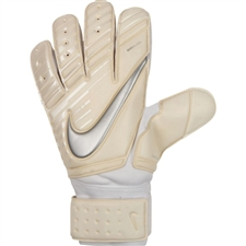 Nike Premier SGT Soccer Goalkeeper Gloves (White/Chrome)