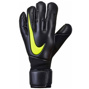 Nike Vapor Grip3 Soccer Goalkeeper Gloves (Black/Volt)