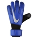 Nike Vapor Grip3 Soccer Goalkeeper Gloves (Racer Blue/Black/Metallic Silver)