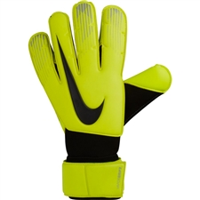 Nike Vapor Grip3 Soccer Goalkeeper Gloves (Volt/Black)