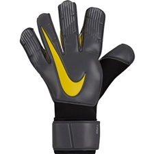 Nike Grip3 Soccer Goalkeeper Gloves (Anthracite/Black/Opti Yellow)