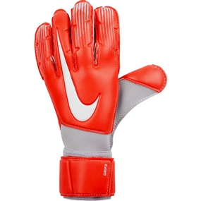 Nike Grip3 Soccer Goalkeeper Gloves (Light Crimson/Wolf Grey/Pure Platinum)