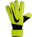 Nike Grip3 Soccer Goalkeeper Gloves (Volt/Black)