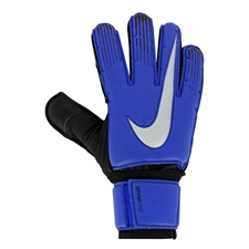 Nike Spyne Pro Goalkeeper Gloves (Racer Blue/Black/Metallic Silver)