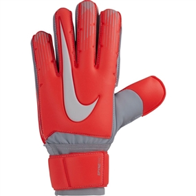 Nike Spyne Pro Goalkeeper Gloves (Light Crimson/Wolf Grey/Pure Platinum)