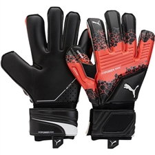 Puma evoPOWER Super 3 Goalkeeper Gloves (Fiery Coral/Black/White)