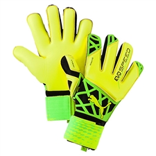 Puma evoSPEED 1.5 Goalkeeper Gloves (Safety Yellow/Green Gecko/Puma Black)