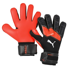 Puma ONE Protect 2 RC Goalkeeper Gloves (Black/Energy Red/White)