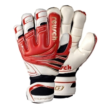 Reusch Goaliator Pro Ortho-Tec GK Gloves (Fire Red/White)