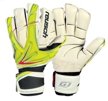 Sale  59.99 - Reusch Keon Deluxe G1 Soccer Gloves (Yellow Red White ... 40f383b3c08c