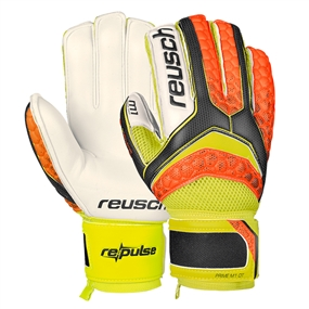 REPULSE Prime M1 Ortho-Tec GK Gloves (Black/Shocking Orange)