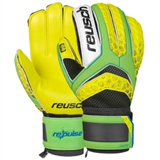 Reusch RE:PULSE SG Extra GK Gloves (Green/Solar Yellow)