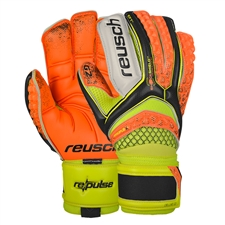 REPULSE Deluxe G2 GK Gloves Reusch (Black/Shocking Orange)