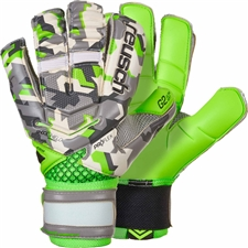 Reusch Reload Deluxe G2 Goalkeeper Gloves (Camo/Green Gecko)