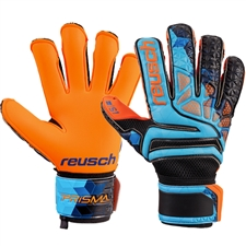 Reusch Prisma Prime S1 Evolution LTD GK Gloves (Blue/Black/Shocking Orange)