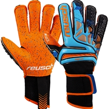 Reusch Prisma Pro G3 Fusion Evolution LTD GK Gloves (Blue/Black/Shocking Orange)
