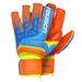 Reusch Prisma Prime S1 Evolution Finger Support Goalkeeper Gloves (Safety Yellow/Ocean Blue/Shocking Orange)