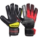 Reusch Prisma Prime R3 Finger Support GK Gloves (Black/Fire Red)
