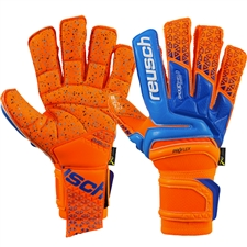 Reusch Prisma Supreme G3 Fusion GK Gloves (Shocking Orange/Blue)