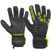 Reusch Fit Control FreeGel MX2 GK Gloves (Black/Lime Green)