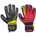 Reusch Fit Control R3 Finger Support GK Gloves (Black/Fire Red)