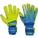 Reusch Fit Control Deluxe G3 Fusion Evolution Ortho-Tec GK Gloves (Blue/Lime)