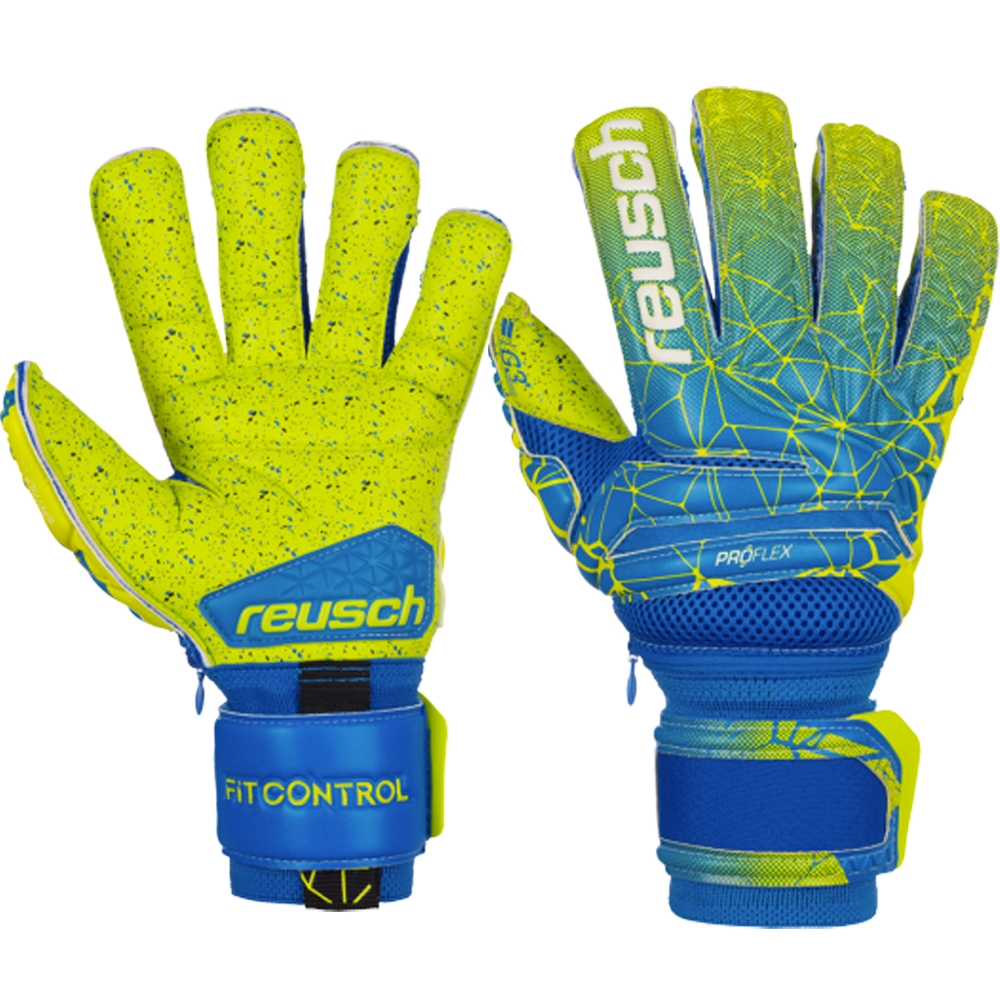 700e13100 Reusch Fit Control Deluxe G3 Fusion Evolution Ortho-Tec GK Gloves ...