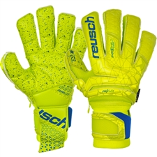 Reusch Fit Control Supreme G3 Fusion Ortho-Tec GK Gloves (Lime/Safety Yellow)