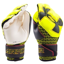 Under Armour Desafio Premier Goalkeeper Gloves (High Vis Yellow/Black)