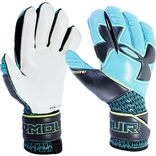 Under Armour Desafio Pro FS Goalkeeper Gloves (Teal/Black)