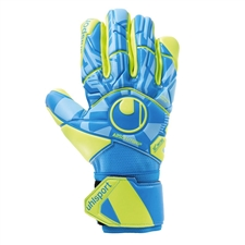 Uhlsport Radar Control Absolutgrip HN Goalkeeper Gloves (Radar Blue/Yellow/Black)