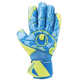 Uhlsport Radar Control Soft SF Goalkeeper Gloves (Radar Blue/Yellow/Black)