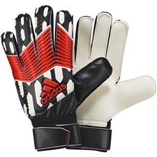 Adidas Predator Junior Goalkeeper Gloves (Black/White/Infrared)