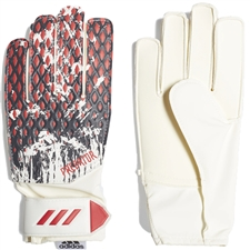Adidas Youth Predator 20 Training Manuel Neuer Goalkeeper Gloves (White/Black/Active Red)