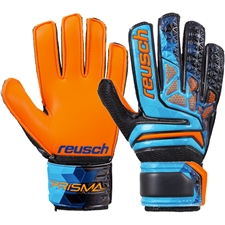 Reusch Junior Prisma SD Easy Fit LTD GK Gloves (Blue/Black/Shocking Orange)