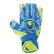 Uhlsport Youth Radar Control Soft SF Goalkeeper Gloves (Radar Blue/Yellow/Black)