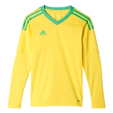 Adidas Youth Revigo 17 Goalkeeper Jersey (Bright Yellow/Energy Green)
