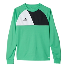 Adidas Youth Assita 17 Goalkeeper Jersey (Energy Green)