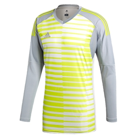 Adidas AdiPro 18 Goalkeeper Jersey (Light Grey/Grey One/Semi Solar Yellow)