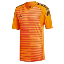 Adidas AdiPro 18 Short Sleeve Goalkeeper Jersey (Lucky Orange/Orange/Unity Ink)