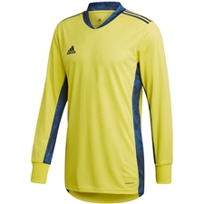 Adidas AdiPro 20 Goalkeeper Jersey (Shock Yellow/Team Navy Blue)