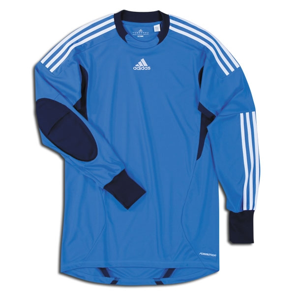 6abb4cc04ef $58.49 - Adidas Campeon 11 Men's Goalkeeper Jersey (Fresh Blue/New ...