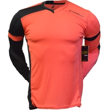 Storelli ExoShield Gladiator Goalkeeper Jersey (Coral/Black)