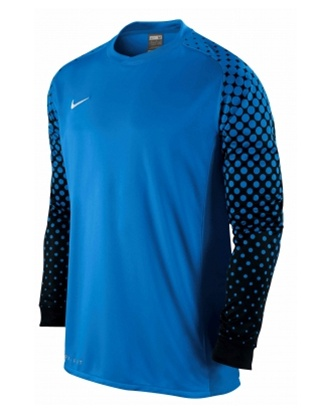 62.99 - Nike Men s Park III L S Goalkeeper Jersey (Blue Black ... ac69bdefe