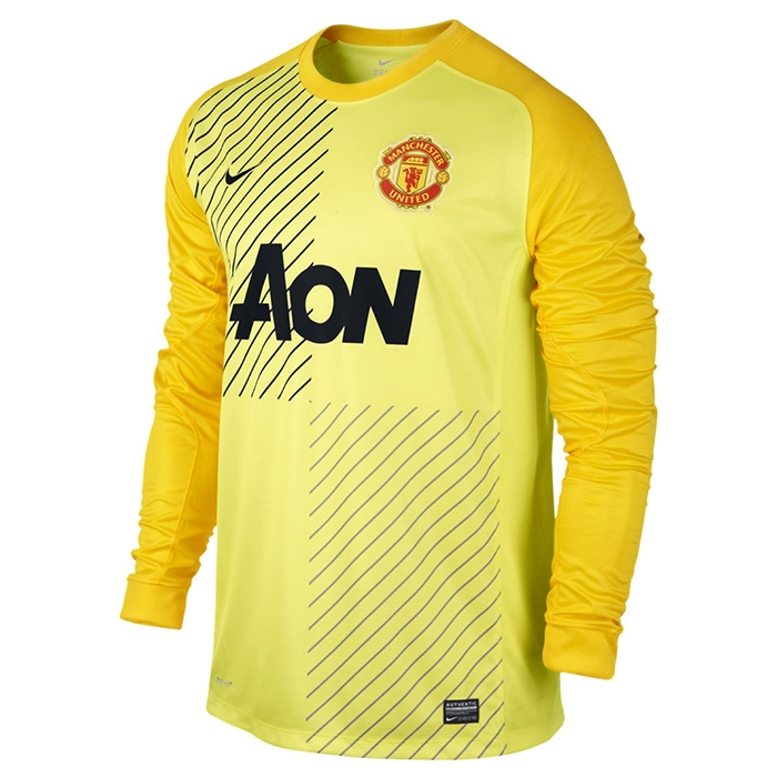 19d14958d5e  98.99 - Nike Men s Manchester United Long Sleeve Replica Goalkeeper ...