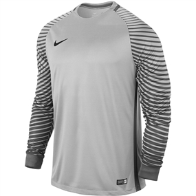 Nike Long Sleeve Gardien Goalkeeper Jersey (Pure Platinum/Cool Grey/Black)