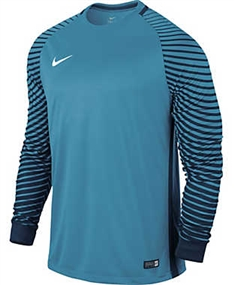 Nike Long Sleeve Gardien Goalkeeper Jersey (Current Blue/Midnight Navy/White)