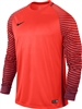 Nike Long Sleeve Gardien Goalkeeper Jersey (Bright Crimson/Deep Garnet/Black)
