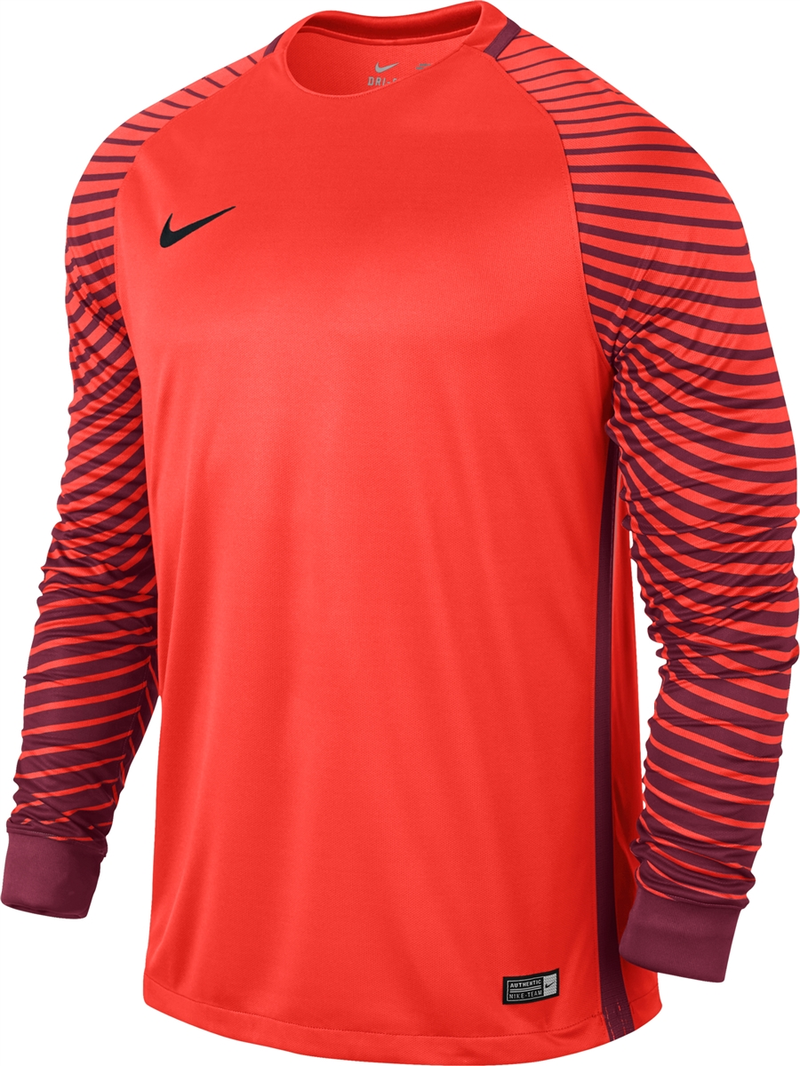 c80a29401bd Nike Long Sleeve Gardien Goalkeeper Jersey (Bright Crimson Deep ...