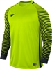 Nike Long Sleeve Gardien Goalkeeper Jersey (Volt/Black/Black)
